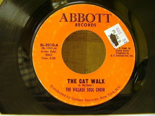画像1: 試聴■SOUL 45■VILLAGE SOUL CHOIR/THE CAT WALK (1)
