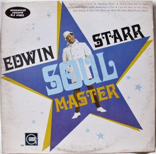 画像1: EDWIN STARR / SOUL MASTER / PROMO MONO (1)