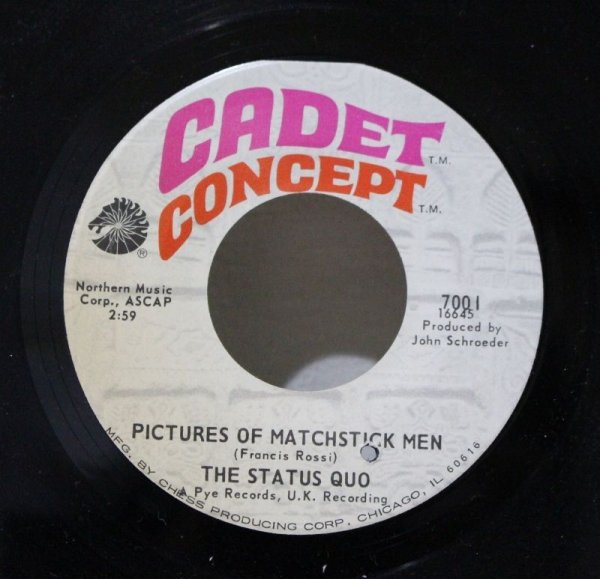 画像1: The Status Quo / Pictures Of Matchstick Men (1)