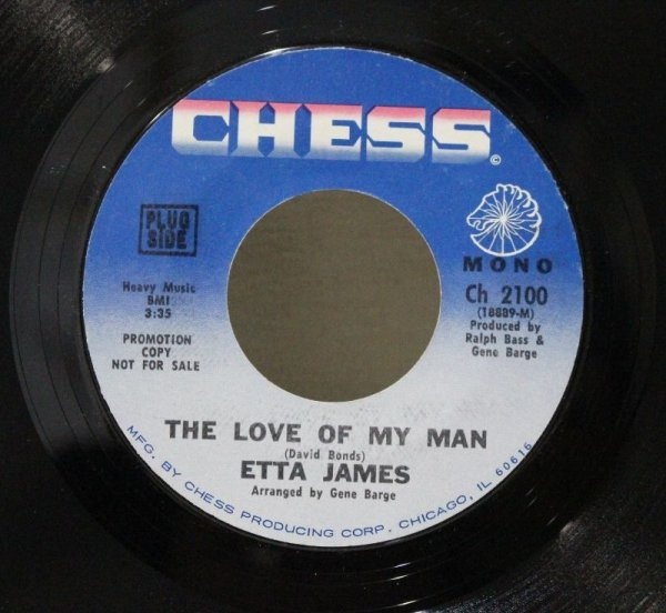 画像1: Etta James / The Love Of My Man / Nothing From Nothing Leaves Nothing (1)