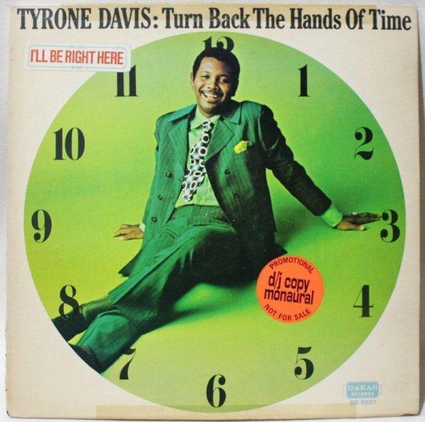 画像1: TYRONE DAVIS / TURN BACK THE HANDS OF TIME / PROMO ONLY MONO (1)